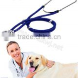 WJ519 veterinary medical equipment dual head stethoscope