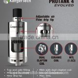 2016 Kanger protank 4 New MTL and DL inhale protank 4 /kanger protank 4 kangertech newest vaping tank