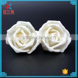 Fashion artificial aromatic 4.5cm crimping rose sola flower for reed diffuser