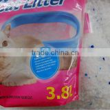 High absorption silica gel cat litter packets