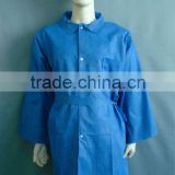 Navy blue lab coat