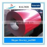 ALL RAL COLOR coated steel sheet can be packed in wood pallets made in China well sold in Philippines