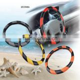 AUD-SWC09A Wholesale New Universal Fit Car PU Leather Sewing Steering Wheel Cover Wrap (Medium)