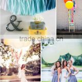 Colorful Party Wedding Holiday Decoration Balloons Tassels