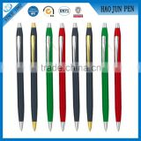 Luxury Gift Multicolor Metal Ball Point Pens With Custom Logo, Advertising Personalized Metal Ballpoint Pens                                                                         Quality Choice