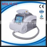 MSLYL02-4 Newest 1064nm/532nm laser tattoo removal machine/q switch nd yag laser machine tattoo removal