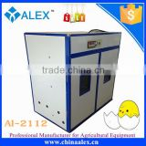 Industrial poultry equipment and incubator for hatching 2112 chicken eggs with large capacity