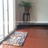 polyester printing rubber mat polyester silk shaggy rugs rubber backing rubber floor mat