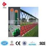 Alibaba China Chain Link Wire Mesh Fencing,Pvc Coated Chain Link Fences,Plastic Chain Link Fence