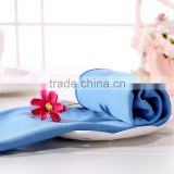 38*40cm square glass-fibre fabric towel Wipe glass Screen cleaning solid textile washcloth