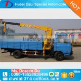 Best-selling 3.5 MT two-section straight boom truck crane