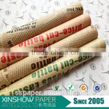 factory price brown kraft paper newsprint paper roll