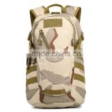 Camouflage Military Backpack, Camping Tactical Hiking Rucksack Double Shoulder Pack Bag Fishing Backpack
