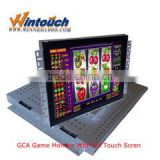 "22"" touch monitor,open frame touch screen display open frame kiosk, vending , gaming, slot machine, amusement"