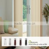 Bintronic Taiwan Villa Home Decorating Ideas Motorized Vertical Blinds Curtain Track Electric Mechanism