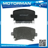 MOTORMAN Fully Stocked high performance no noise japanese brand brake pad D1018-7921 for VW TRANSPORTER