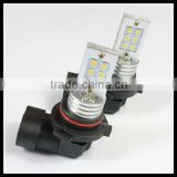 9006 led 5630 smd pure white dc12v car accessory light source headlight 12w led fog lamp xenon bulb