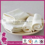2015 Hot Selling 100% cotton fabric plain dyed weaving ,waffle style cotton face towel