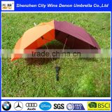 "Special shape 23"" promotional custom OEM Taobao&Amazon hot sale manual two people umbrella for lovers"