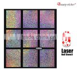 Wholesales Custom Design Laser Nail Art Stencil                                                                         Quality Choice