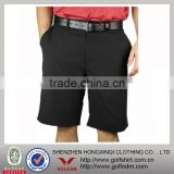 Men's High quality black golf shorts