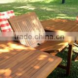 Teak Garden and Outdoor Furniture: Teak Kebun Extending Table