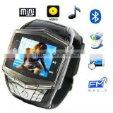 "GSM Watch Mobile Phone with 1.3MP Camera,1.5""Touch LCD support Hands Free, Bluetooth"