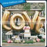 wedding decoration inflatable letter,inflatable letter model,hanging inflatable love letter