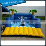 coconut tree inflatable surf rider / Interesting inflatable surf sensation machine