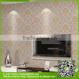 natural flower vinyl wallpaper with new design