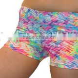 Women Dri-Fit Athletic Fitness Dance Yoga Shorts Compression Running Gym Shorts