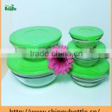 colorful box packaged glass bowls one set