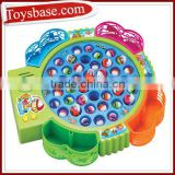 Battery operated fishing game set