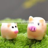 DIY Micro Fairy Garden Accessories Miniature Mini Happy resin pig & many designs for angels statues 24k gold bee figurines