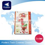 OEM Chinese new year greeting card with die-cut