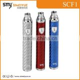 Smy high voltage vaporizer Scf1 battery electronic vaporizer pen with micro usb charger port