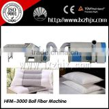 CE certified HFM-3000 ball fiber machine , polyester fiber ball machine, popcorn machine