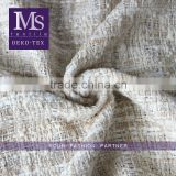 Wool Polyester Worsted Tweed Suit Fabric/polyester cotton wool blend fabric for fashion cloths