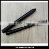 Private label detachable eyelash brush black retractable mascara wand makeup brushes