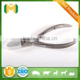 Cutting teeth, dental extracting forceps, pig tooth nipper
