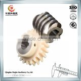 CNC machining Service custom precision worm gears auto parts steel industrial worm gears