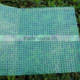 Super heavy mesh tarp pe coated woven fabric leno tarpaulin sheet