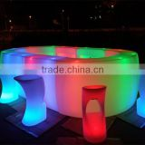 2015 new design plastic surface restaurant table &fast food design bar counter table