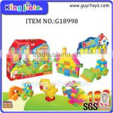 little children plastic building blocks
