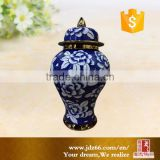 White and blue wases chinese ginger jar