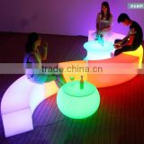 modern led furniture bar chair stool, light up led bar chair stool
