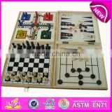 2015 New kids wooden Chess Sets,popular children wooden chess toy and hot sale baby wooden chess wj277101