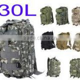 9 Colors 30L Outdoor Sports 3P bag Tactical Military Backpack for Camping Hiking Trekking Wholesale
