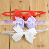 2015 new design popular colored children hair bows 15 colors