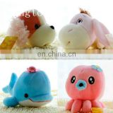 fashion lovely plush sea animal toys wholesale